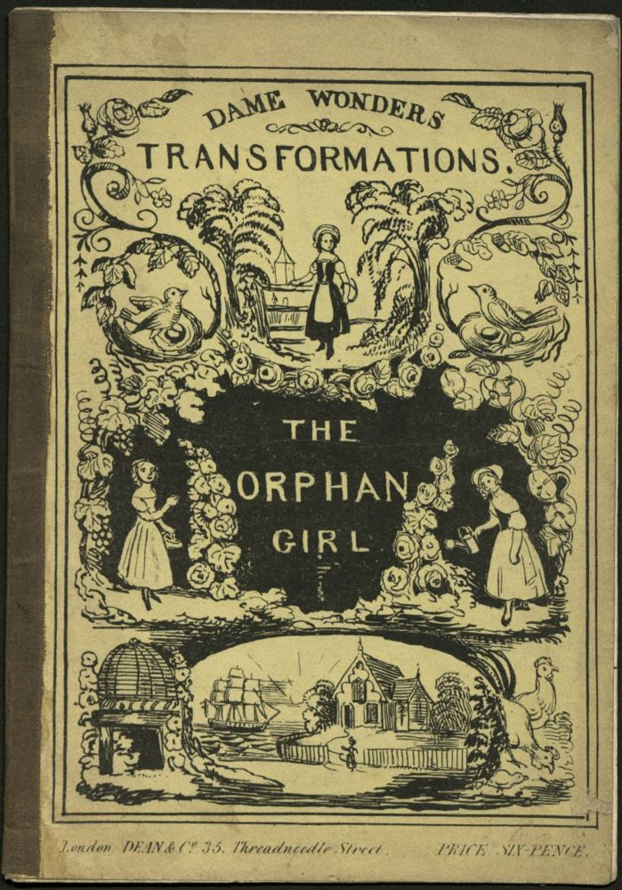 Cover fo the book: Dame Wonder's Transformations. The Orphan Girl.