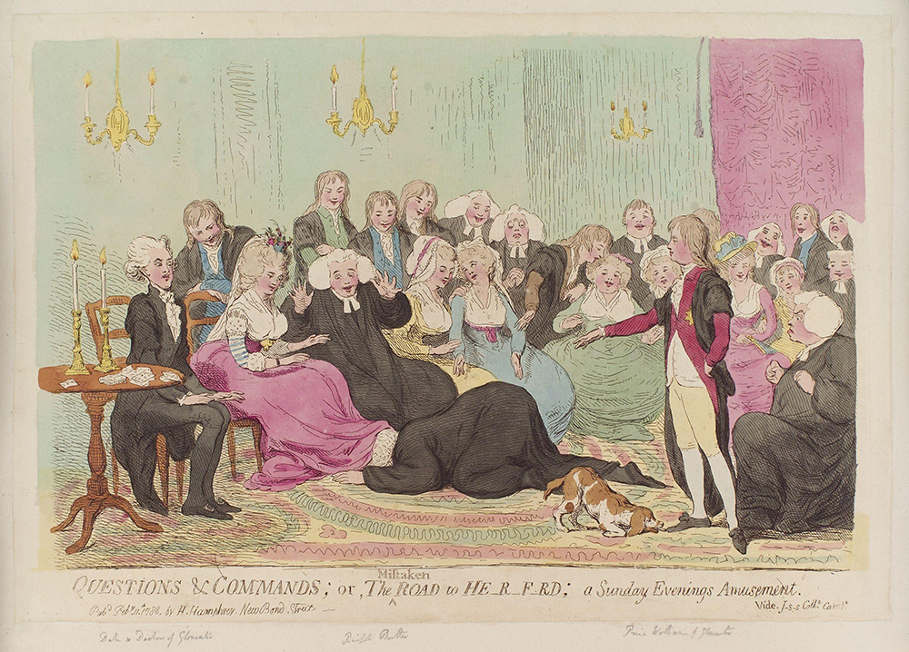 Questions_and_commands;_or,_the_mistaken_road_to_He-r-f-rd;_a_Sunday_evenings_amusement_by_James_Gillray