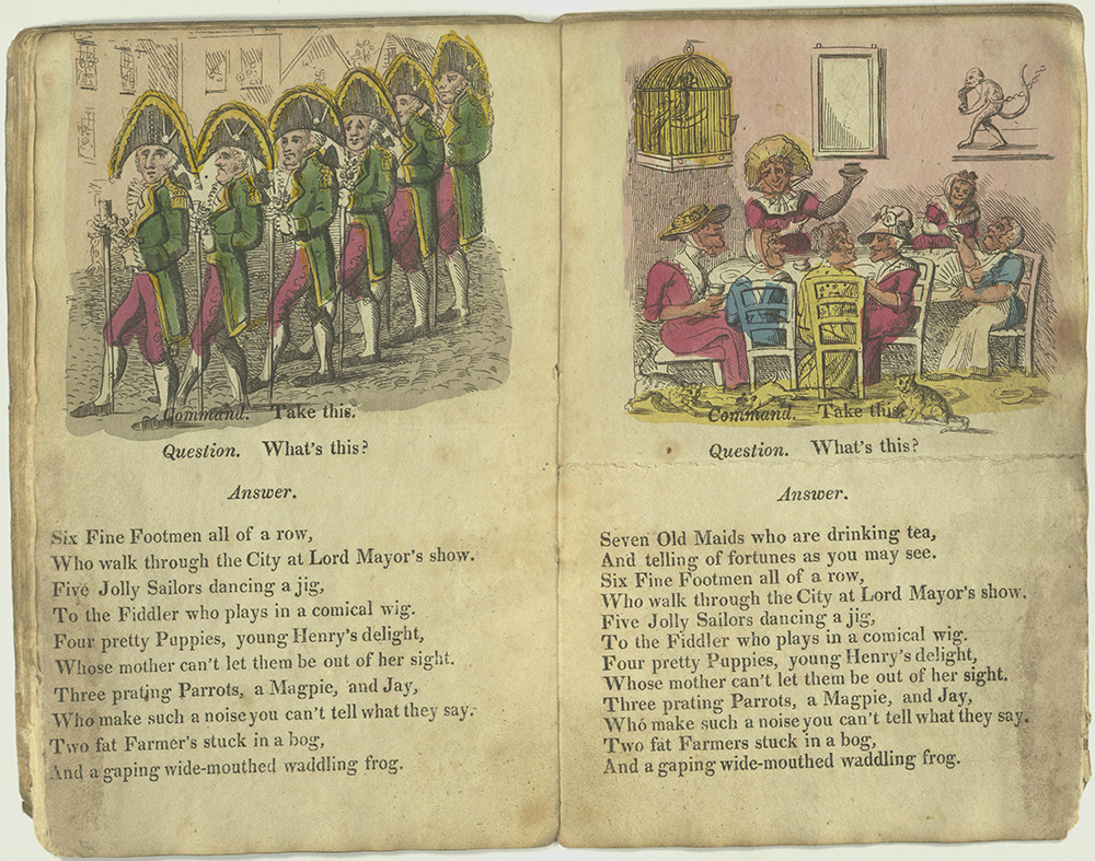 Verses for six fine footmen and seven old maids