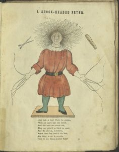 Peter, from the 1851 English Struwwelpeter