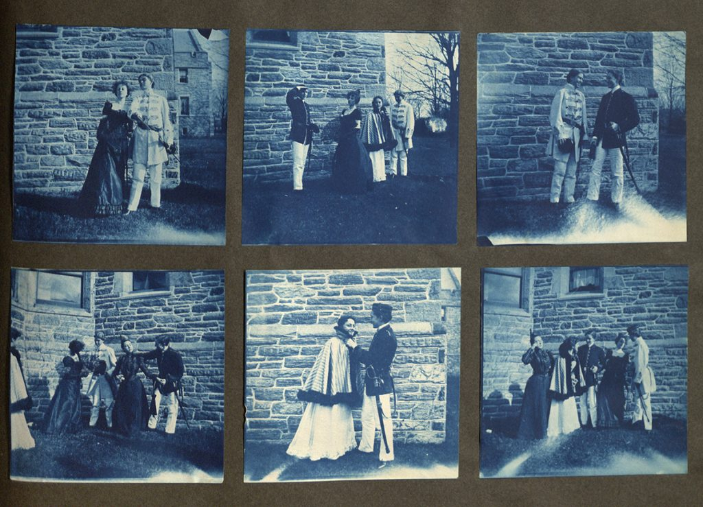 Page from Amy L. Steiner photograph album, circa 1899
