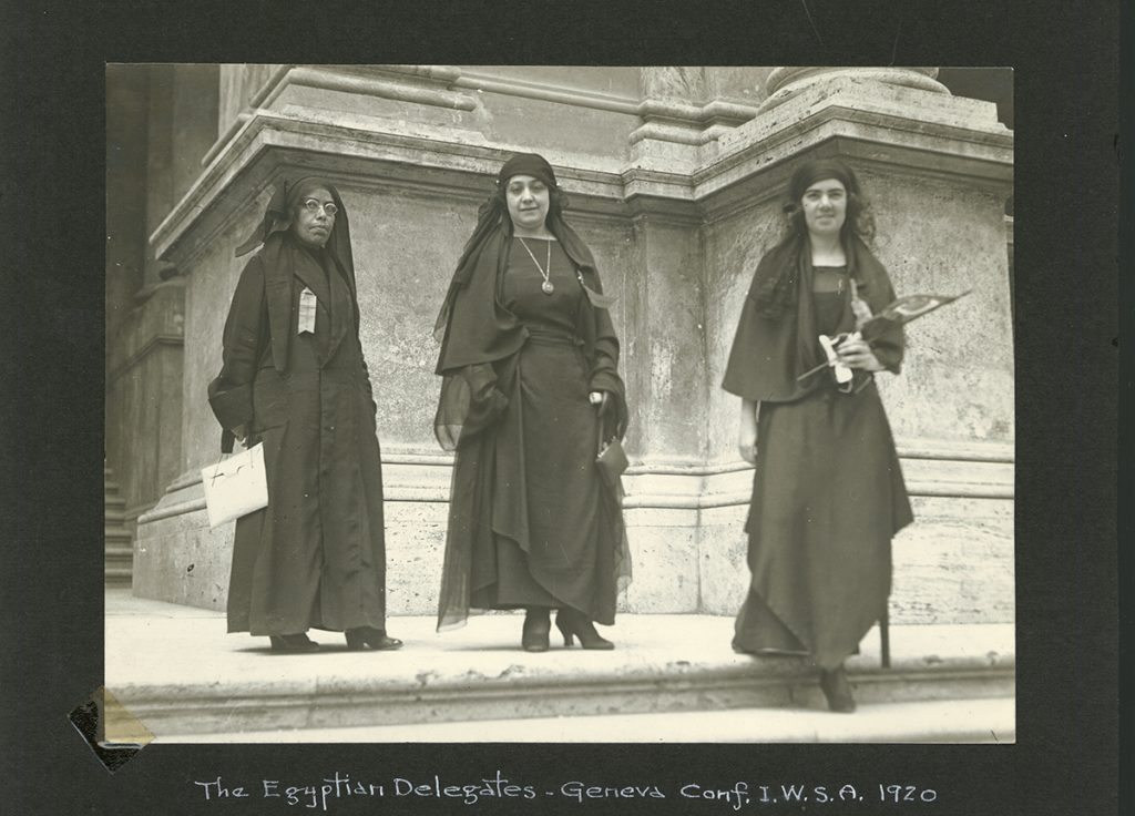 Photograph from the Carrie Chapman Catt collection