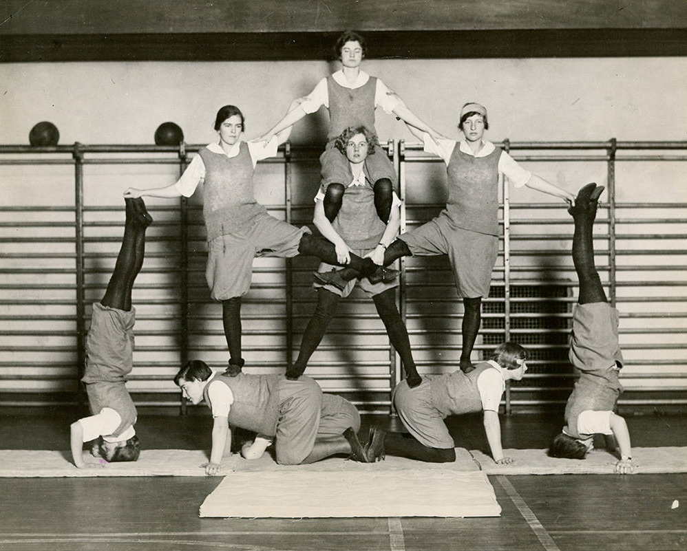 Photograph from the Bryn Mawr College Photo Archives