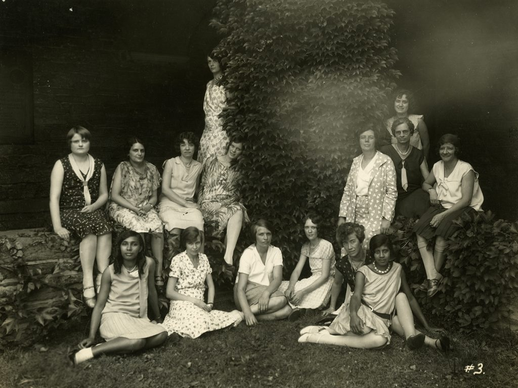 Bryn Mawr Summer School for Women Workers in Industry photograph