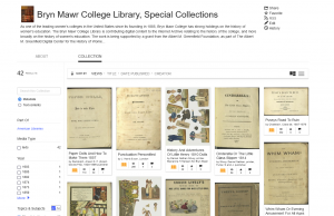 Screenshot of search results for the EY Wood Collection books on the Internet Archive
